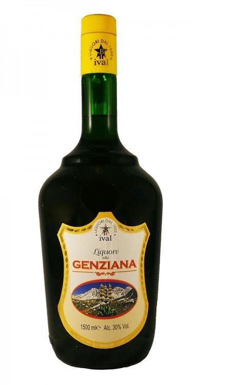 Genziana liquore d'Abruzzo 1,5L Ival